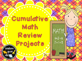 Math Review Projects (Fractions, Measurement, Place Value, Operations, & More)