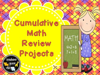 Math Review Projects (Fractions, Measurement, Place Value,