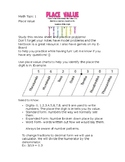 Math Review Sheet and Study Guide EnVisions Math Grade 5 T