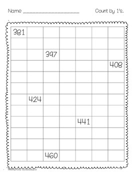 Math Review Sheets { First and Second Grade }