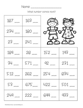Math Review Sheets { First and Second Grade } by Doodle ...