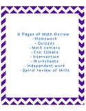 "Math Review: ""Show What You Know!"""