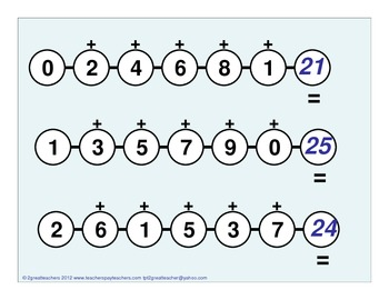 Math Review Strings