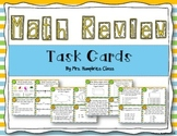 Math review task cards: 3rd Grade