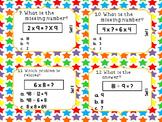 Math Review Task Cards Super Bundle