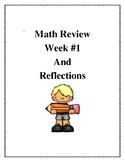 Math Review Week 1