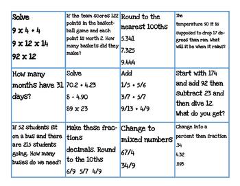 Math Review Week 6