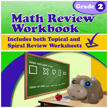 Math Review Workbook - Grade 2