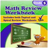 Math Review Workbook - Grade 5