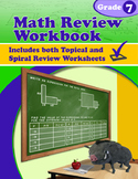 Math Review Workbook - Grade 7