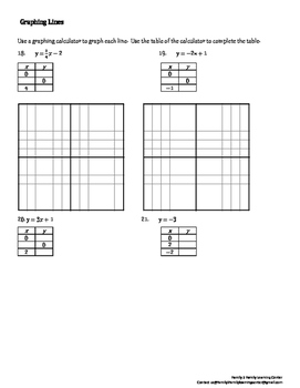 Math Review Worksheet #4