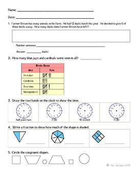 Math Review Worksheet 6