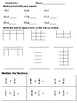 Math Review Worksheets--3 for 5 Days--Set 16