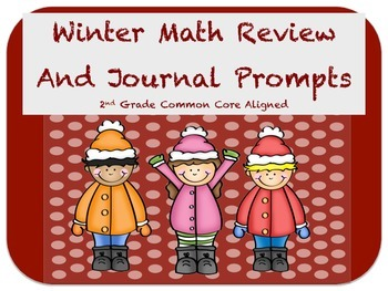 Math Review and Winter Journal Prompts
