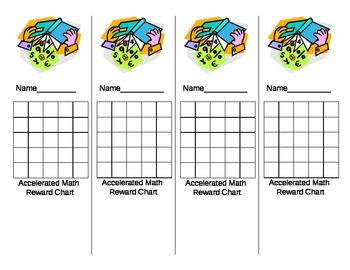 Math Reward Chart