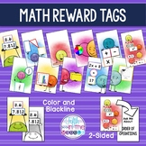 Math Reward Tags {EDITABLE}