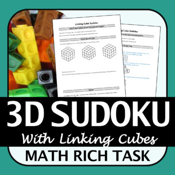 Math Rich Task | Linking Cube Sudoku | Logic and Reasoning | 3D Shapes