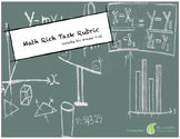 Math Rich Task Rubric