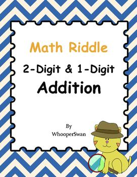 Math Riddle: 2-Digit & 1-Digit Addition