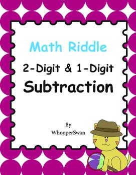 Math Riddle: 2-Digit & 1-Digit Subtraction