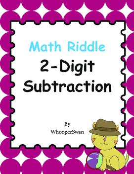 Math Riddle: 2-Digit Subtraction