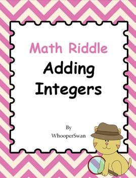 Math Riddle: Adding Integers