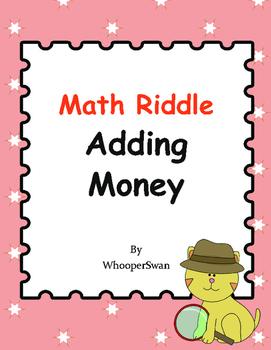 Math Riddle: Adding Money
