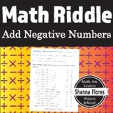 Math Riddle - Adding Negative Numbers - Fun Math