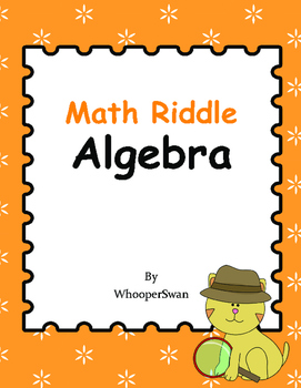Math Riddle: Algebra