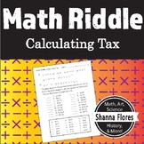 Math Riddle - Calculating Tax - Fun Math