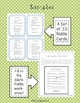 Math Riddle Cards and Student Riddle Worksheet