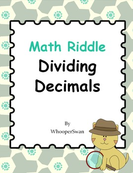 Math Riddle: Dividing Decimals