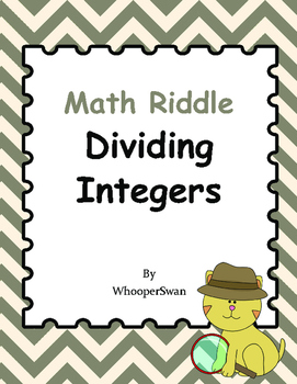 Math Riddle: Dividing Integers