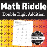 Math Riddle - Double Digit Addition Worksheet - Fun Math