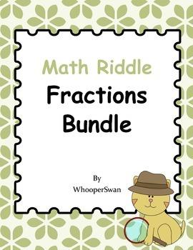 Math Riddle: Fractions Bundle