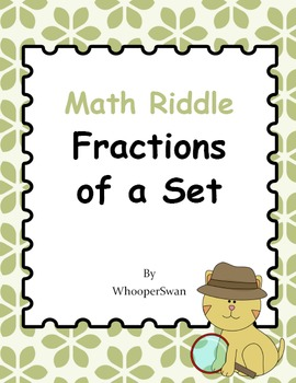 Math Riddle: Fractions of a Set