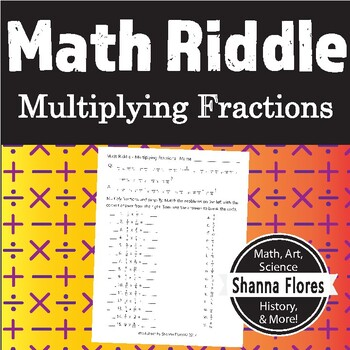Math Riddle - Multiplying Fractions - Fun Math