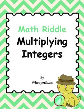 Math Riddle: Multiplying Integers