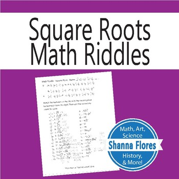 Math Riddle - Square Root - Fun Math