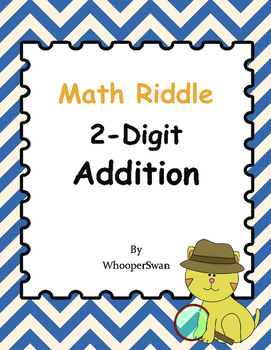 Math Riddle: 2-Digit Addition