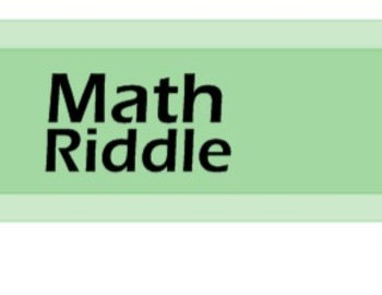 Math Riddles - 40 Daily Warm-ups for High School Math Students