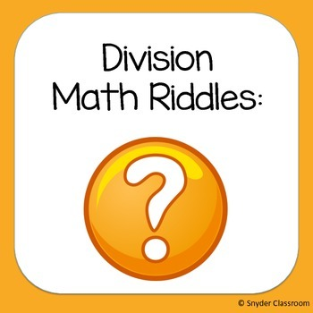 Long Division Math Riddles