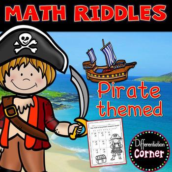 Math Worksheets Pirates