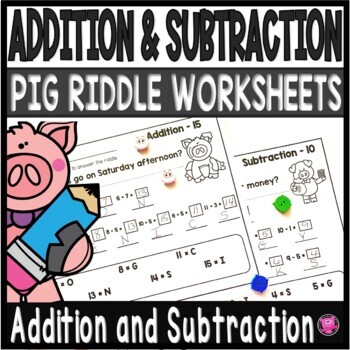 Adding and Subtracting within 15 Worksheets