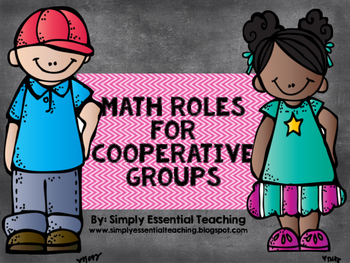 Math Roles for Cooperative Groups