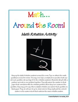 Math Rotation Activity