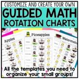 Math Center Rotation Schedule, Binder, & Organization