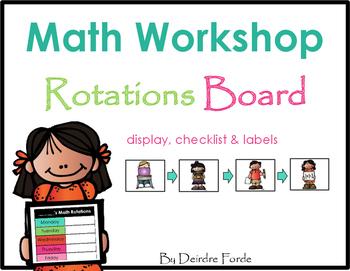 Math Rotation Board 2