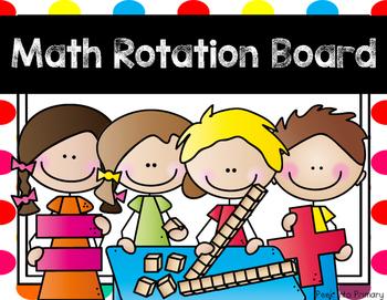 Math Rotation Board