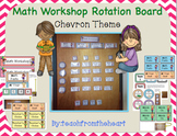 Math Rotation Board (Chevron Theme)
